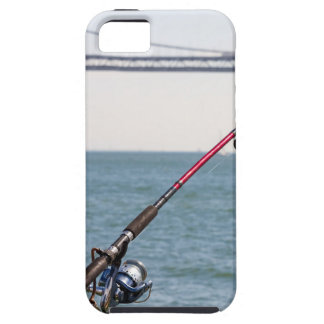 Fishing Rod on the Pier in San Francisco Bay iPhone 5 Cover