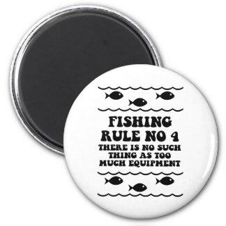 Fishing Rule No 4 Magnet
