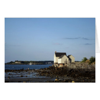 Fishing Shack in South Portland, Maine Card