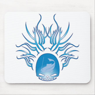 Fishing Skull Mouse Pads