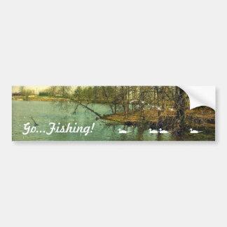 Fishing Spot, Go...Fishing! 2018 Bumper Sticker