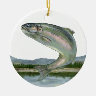 Fishing - SRF Round Ceramic Decoration