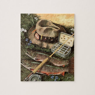 Fishing Still Life Jigsaw Puzzle