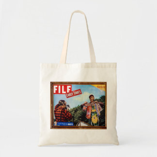 fishing story tote bag