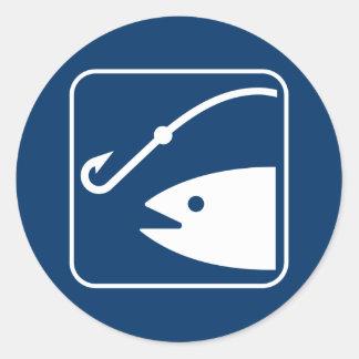 Fishing Symbol Sticker