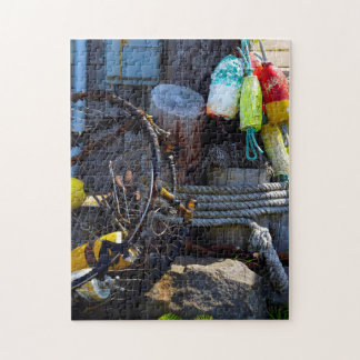 Fishing Traditions  in Oregon. Jigsaw Puzzle