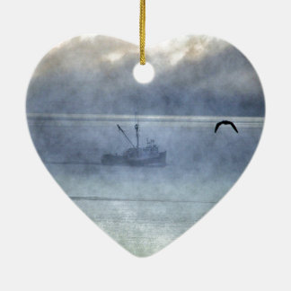 Fishing Trawler Nova Scotia Fishermen's Ceramic Ornament