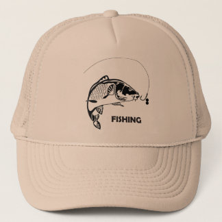 """Fishing"" trucker hat"
