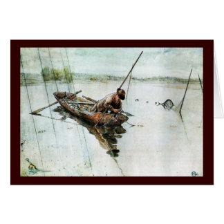Fishing with Nets 1905 Card