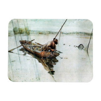Fishing with Nets 1905 Rectangular Photo Magnet