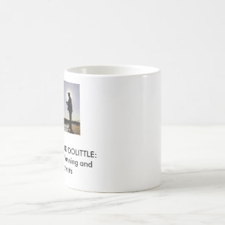 Fishmore and Dolittle: Retirement planning ... Classic White Coffee Mug