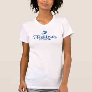 Fishtown -  Leland, MI Ladies Tank Top (Fitted)