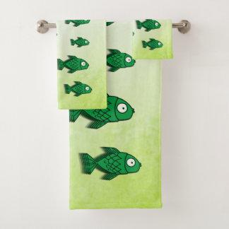 Fishy Bath Towel Set