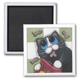 Fishy Bites - Cat Magnet