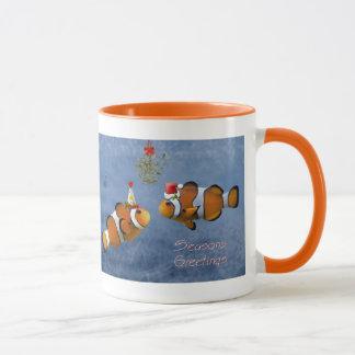Fishy Christmas Mug