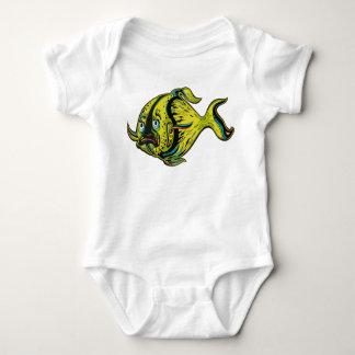 Fishy Fish Baby Bodysuit