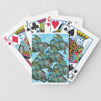 Fishy Fishy Bicycle Playing Cards