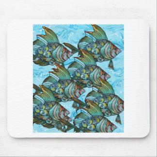 Fishy Fishy Mouse Pad