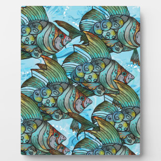Fishy Fishy Plaque