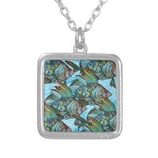 Fishy Fishy Silver Plated Necklace