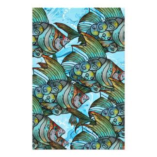 Fishy Fishy Stationery