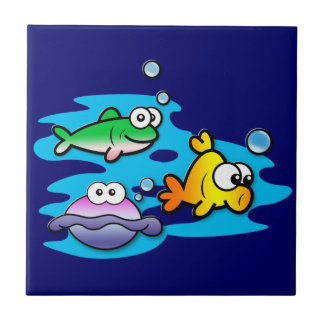Fishy Friends Tile