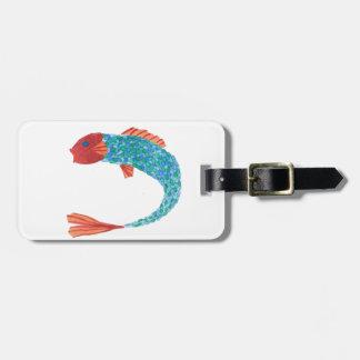 Fishy Luggage Tag