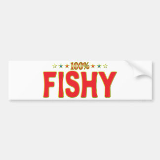 Fishy Star Tag Bumper Stickers