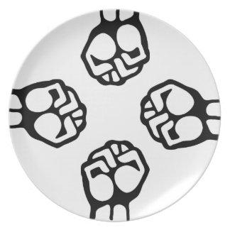 Fist Bump Plate