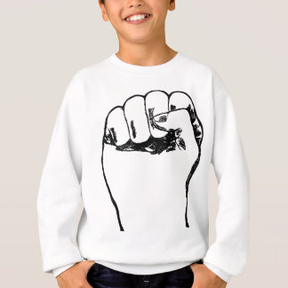Fist in the air sweatshirt