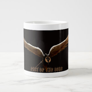 Fist of the Ogre coffee mug