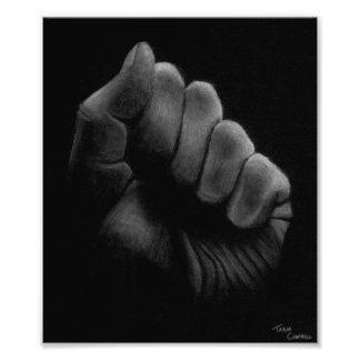 Fist Photographic Print