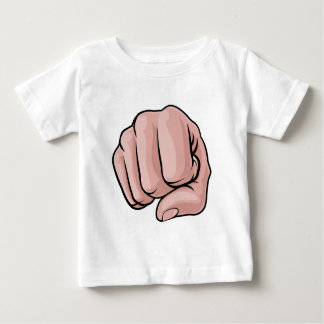 Fist Punch Knuckles Hand Baby T-Shirt