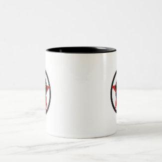 Fist Two-Tone Coffee Mug