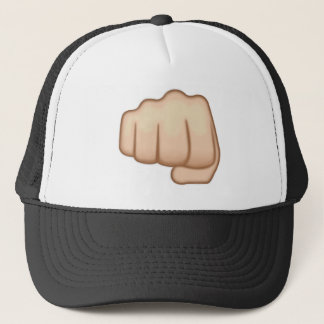 Fisted Hand Sign Emoji Trucker Hat