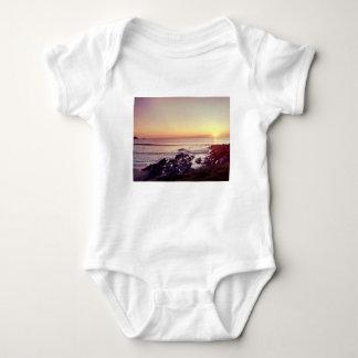 Fistral Beach Sunset Baby Bodysuit