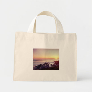 Fistral Beach Sunset Mini Tote Bag