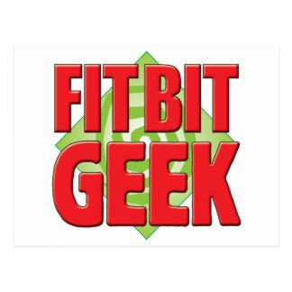 Fit Bit Geek v2 Postcard