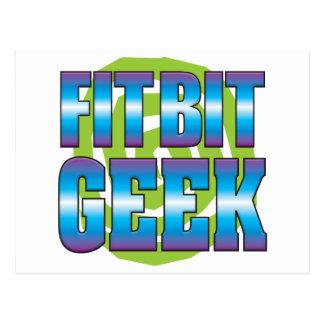 Fit Bit Geek v3 Postcard