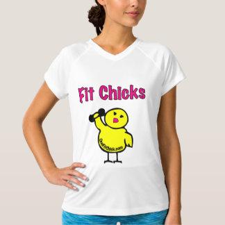 Fit Chicks Ladies Performance Micro-Fiber T-Shirt