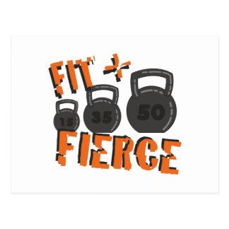 Fit & Fierce Postcard