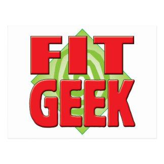Fit Geek v2 Postcard
