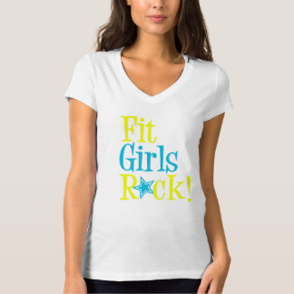Fit Girls Rock T-Shirt