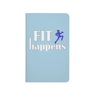 Fit Happens Workout Motivation Journal