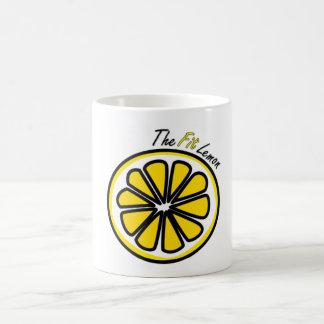Fit Lemon Cup Basic White Mug