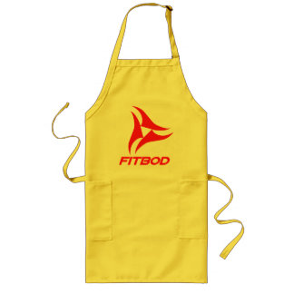 FITBOD red fitness logo Apron