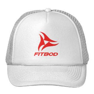 FITBOD red fitness logo Trucker Hats