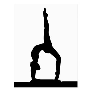 Fitness 5 postcard