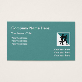 Fitness Athletic Trainer Business Card