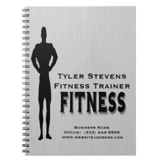 Fitness Bodybuilder Spiral Notebook